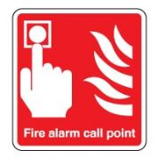 Fire Safety Sign - Fire Alarm Point 045